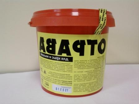 Не соромтеся використовувати хімічні засоби проти дрібних гризунів, але будьте гранично обережні
