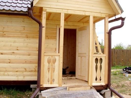 Закрытое крыльцо для деревянного дома своими руками фото 435